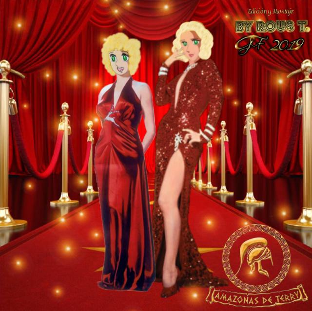 Desde la Fundación K-G . Amazonas de Terry Candy&Eleanor al puro estilo Marilyn Monroe nos deleintan con todo el glamour de la época dorada de Hollywood Candy-10