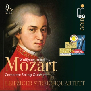 Mozart: quatuors à cordes dédiés à Haydn 7192ur10