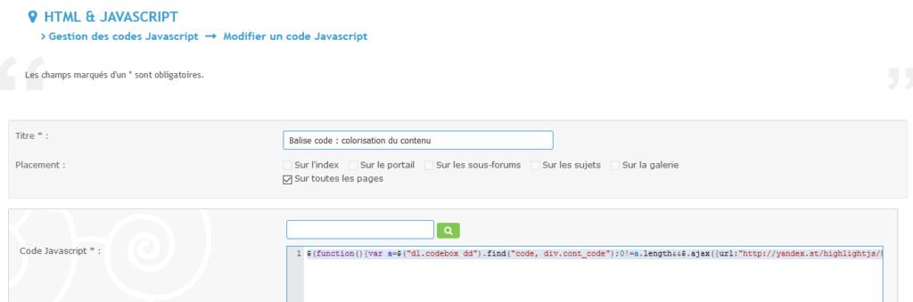 Balise code : colorisation du contenu ne fonctionne plus Captur13