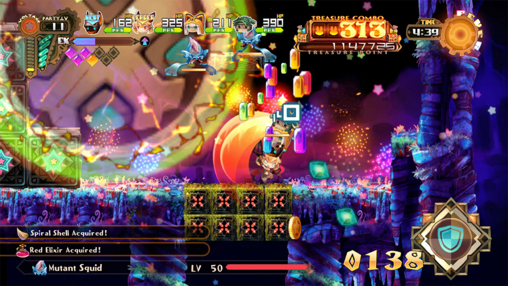 psn - Review: Lapis x Labyrinth (PS4 Retail) Switch10
