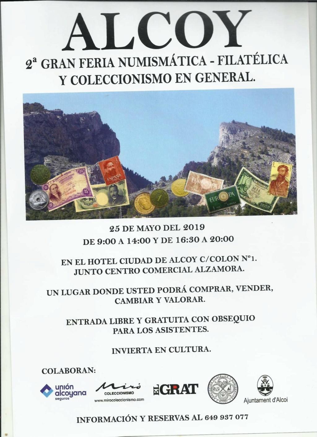 CONVENCIÓN ASOC. NUMISMÁTICA FILAT. ALCOY . 25-05-19 Fb_img10