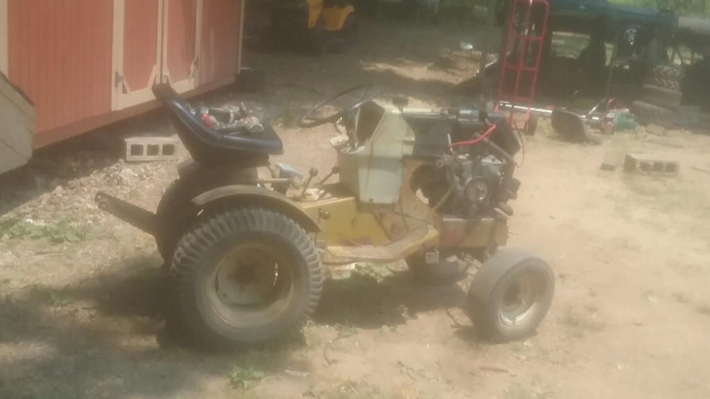 74 sears utility tractor build 20190610