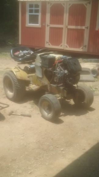 74 sears utility tractor build 20190611