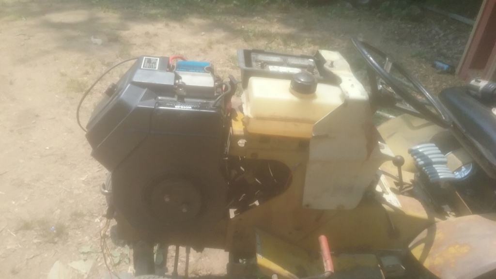 74 sears utility tractor build 20190612