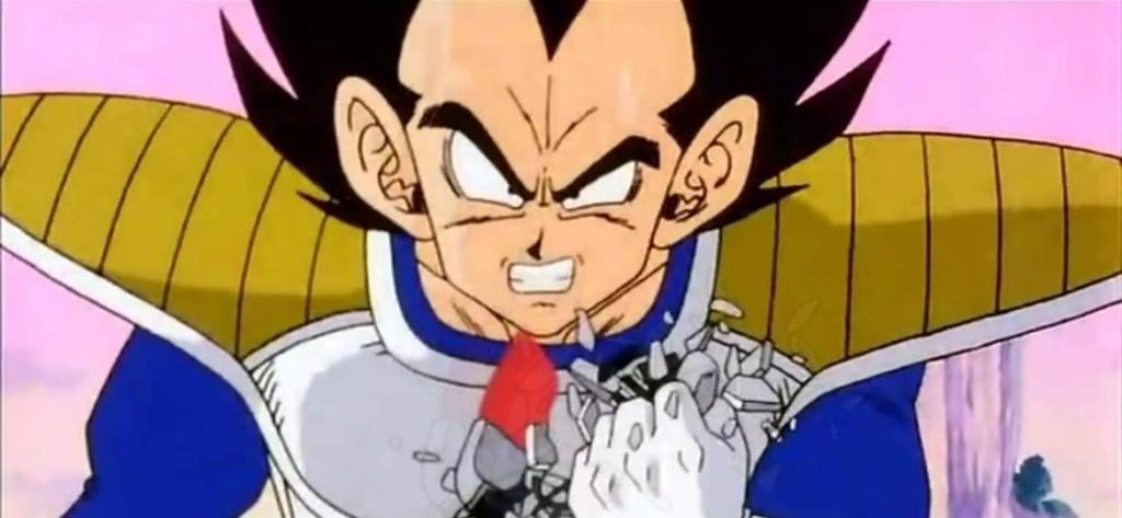Qual seria o poder de luta dos personagens de Naruto se eles estivessem em Dragon Ball? Vegeta11