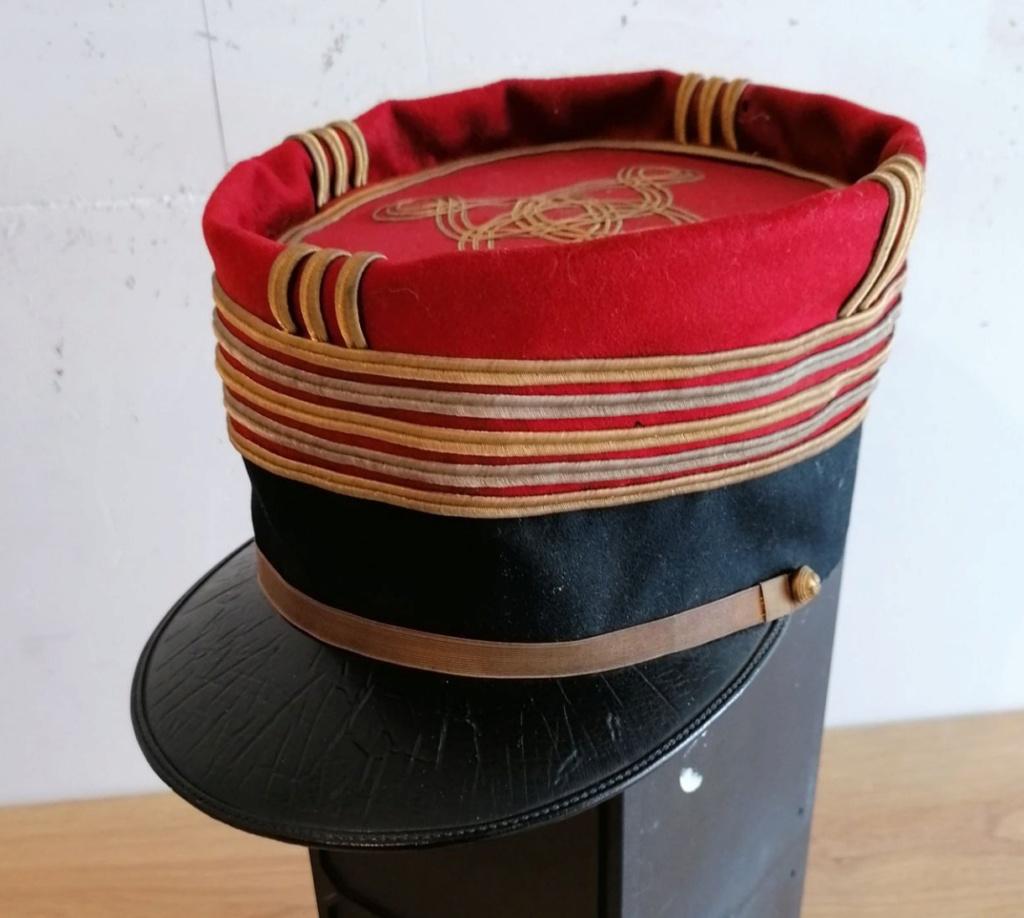 Képi foulard modèle 1886 de capitaine du 123 RI. - Page 2 20201110