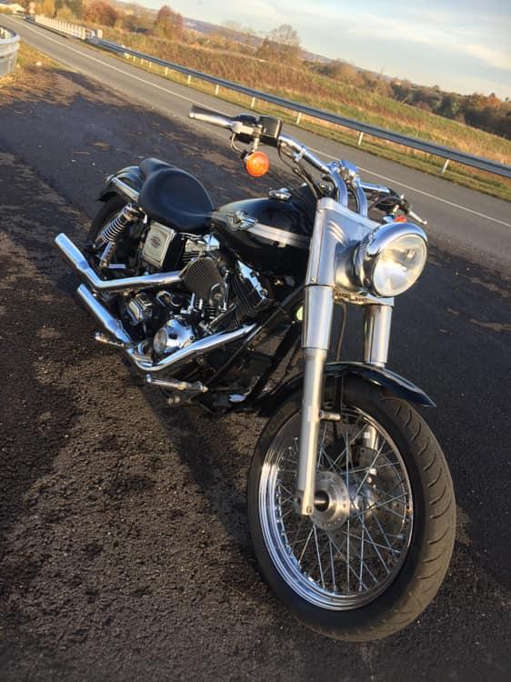 Capotage fourche sur Low Rider 75603811