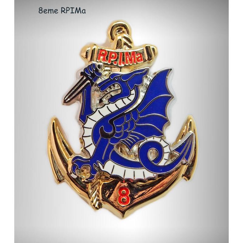 -Les DEUX RPIMA  en  Indochine Insign12
