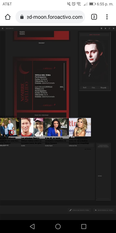 Publicidad cubre parte de la ultima respuesta del tema Screen10