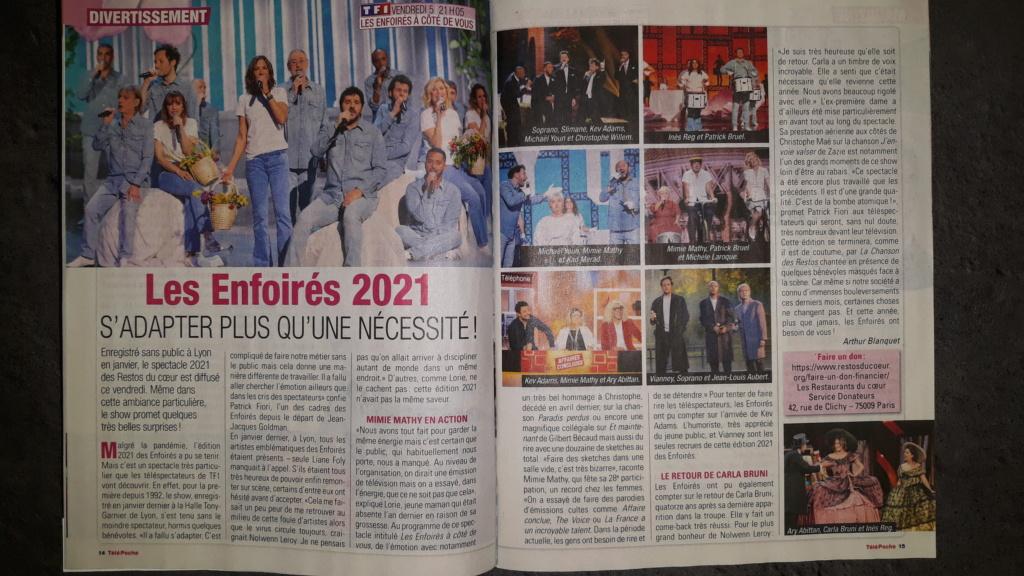 La presse des Enfoirés 2021 20210219