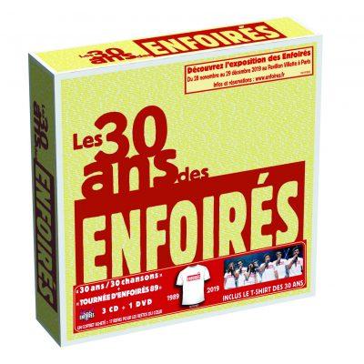 2019 - Le coffret CD/DVD des 30 ans des Enfoirés  Boitie10