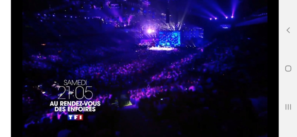 Les Enfoirés sur TF1 (rediffusion) Screen48