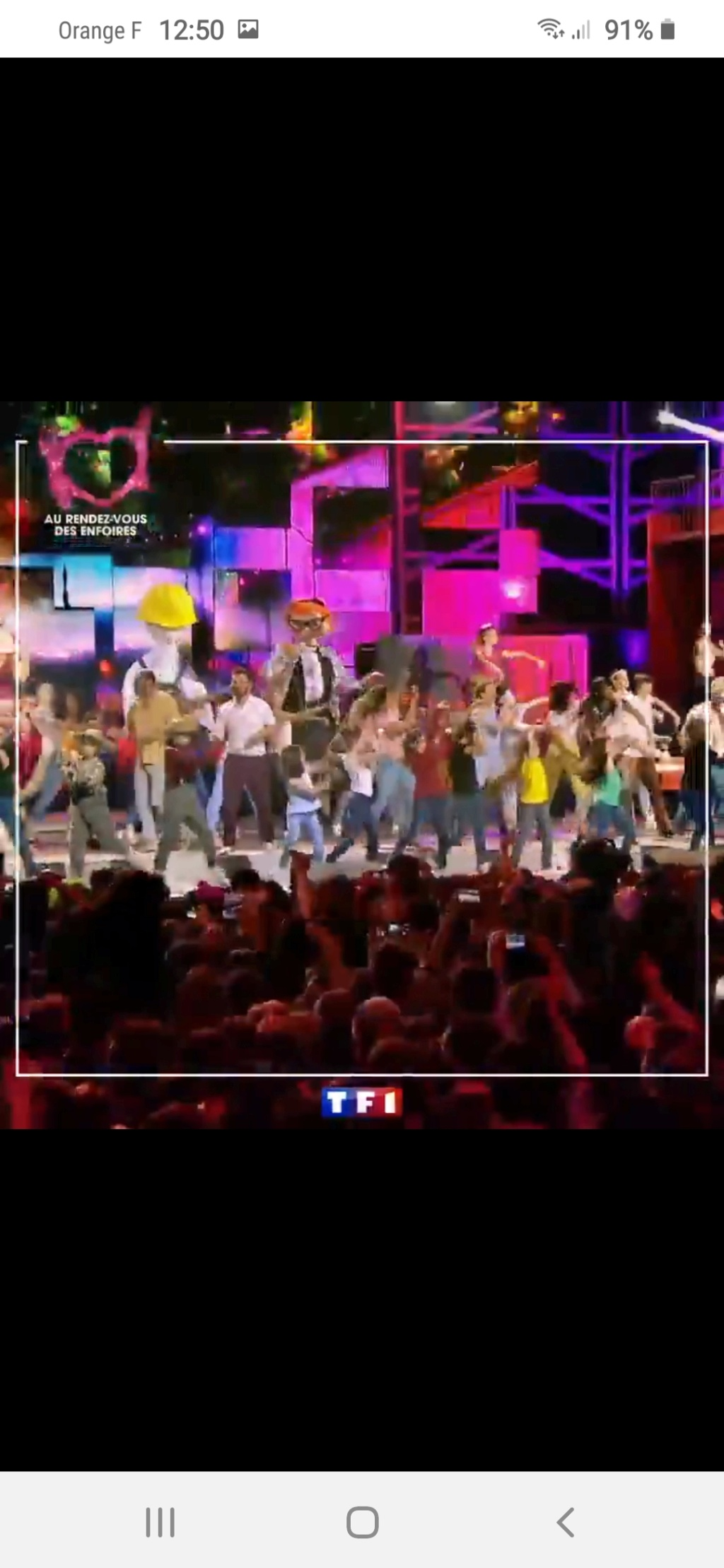 Les Enfoirés sur TF1 (rediffusion) Screen49