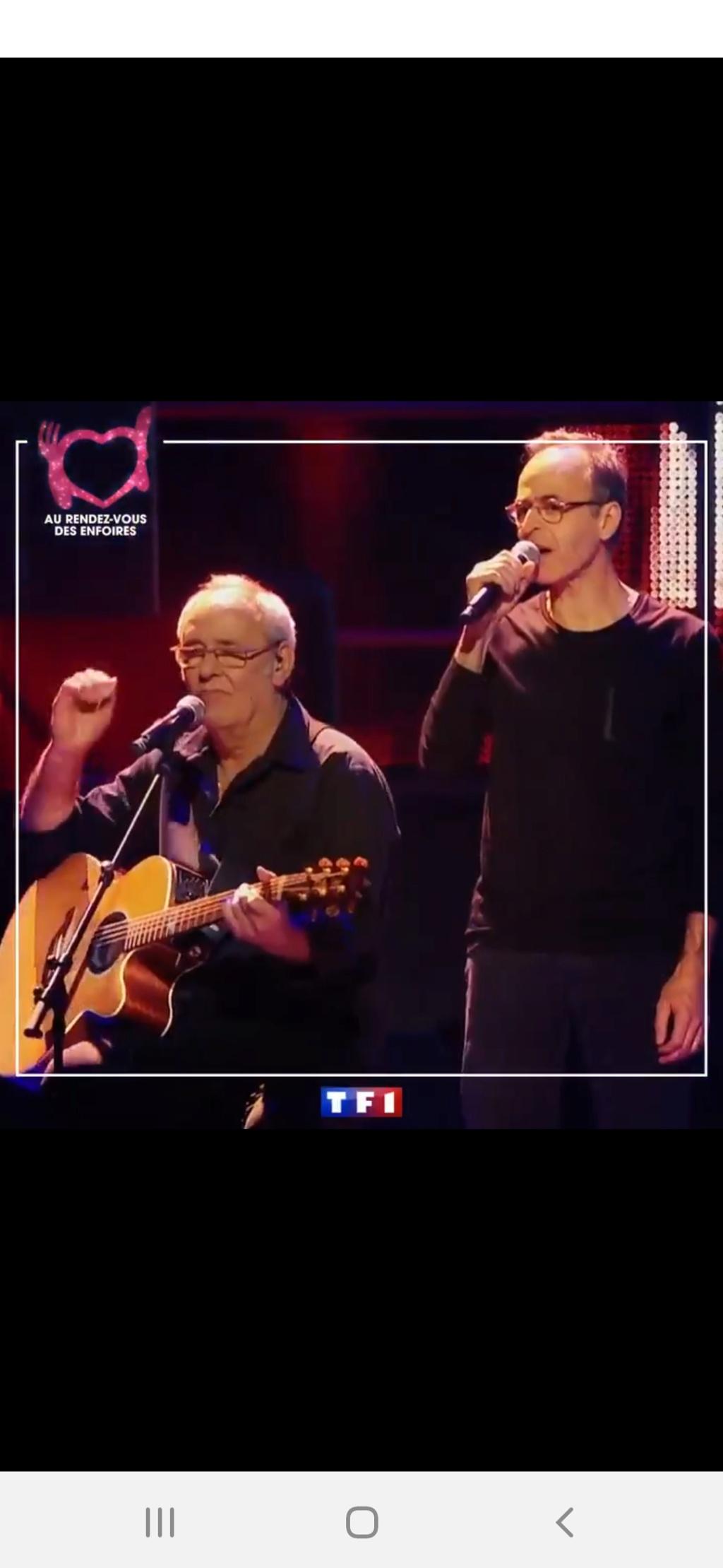 Les Enfoirés sur TF1 (rediffusion) Screen50