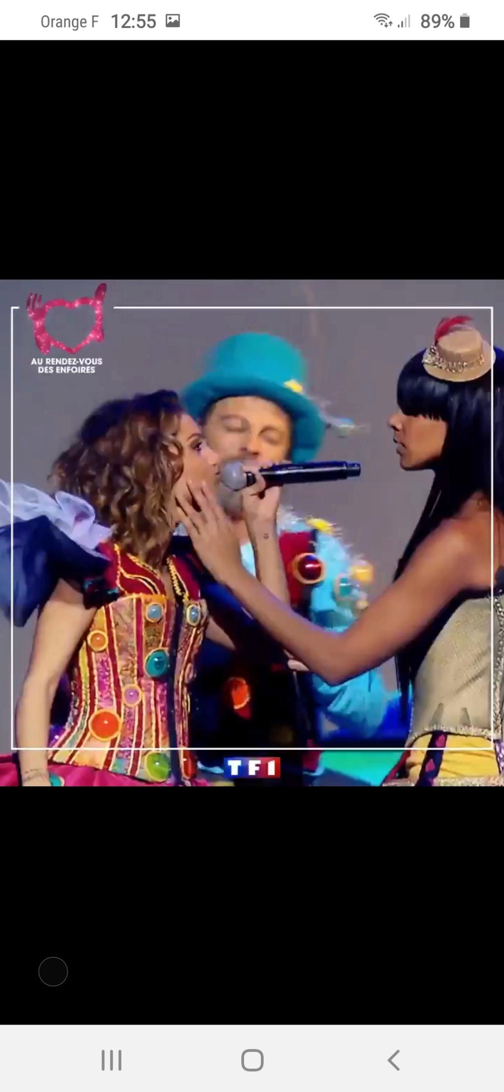 Les Enfoirés sur TF1 (rediffusion) Screen52