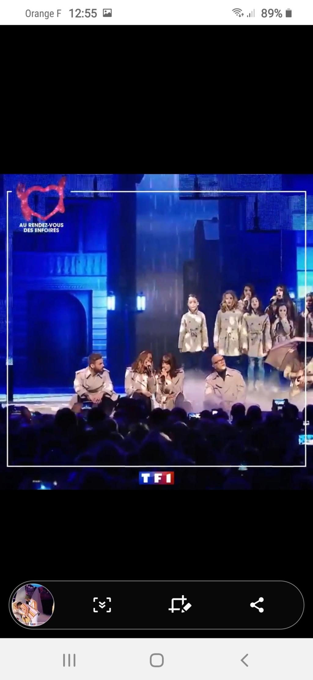 Les Enfoirés sur TF1 (rediffusion) Screen54