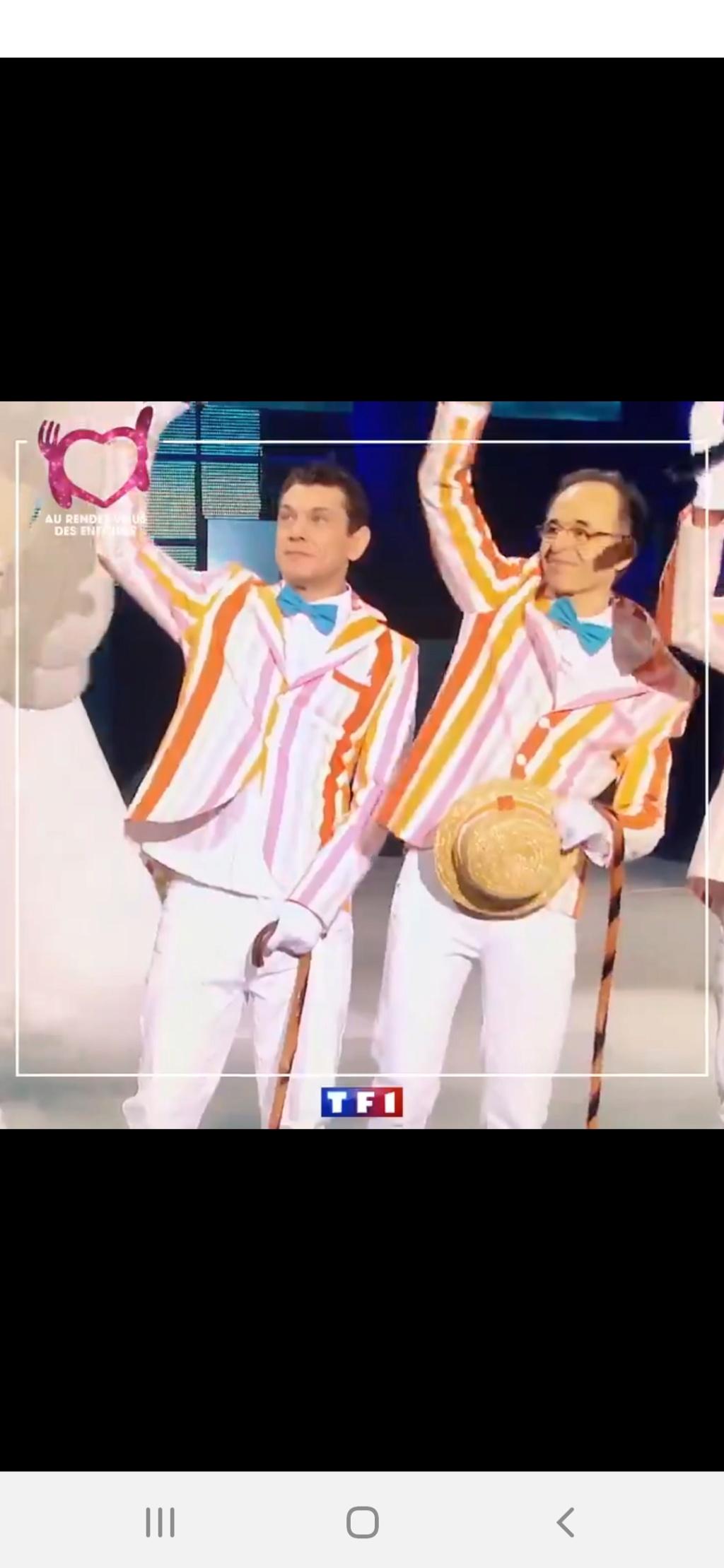Les Enfoirés sur TF1 (rediffusion) Screen57