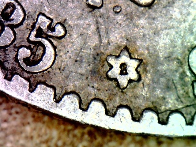 50 centimos 1885. Alfonso XII. Opinión. Estrella derecha confusa 50_cen11