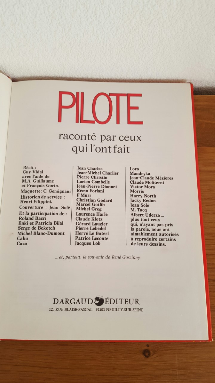 Ma collection - Page 10 Pilote25