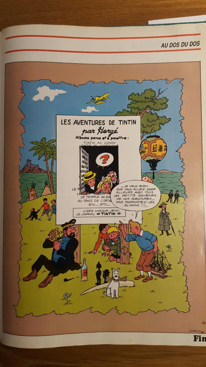 Ma collection - Page 26 Tintin25