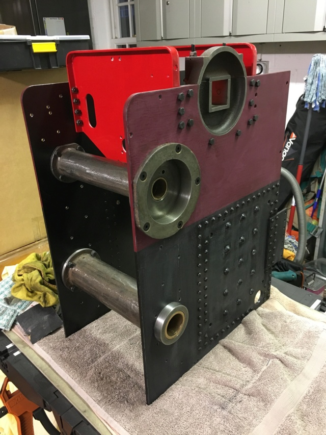 Kit 10 - Rear Axle, 2nd Shaft, Bearing Housings & Caps etc. 84491a10