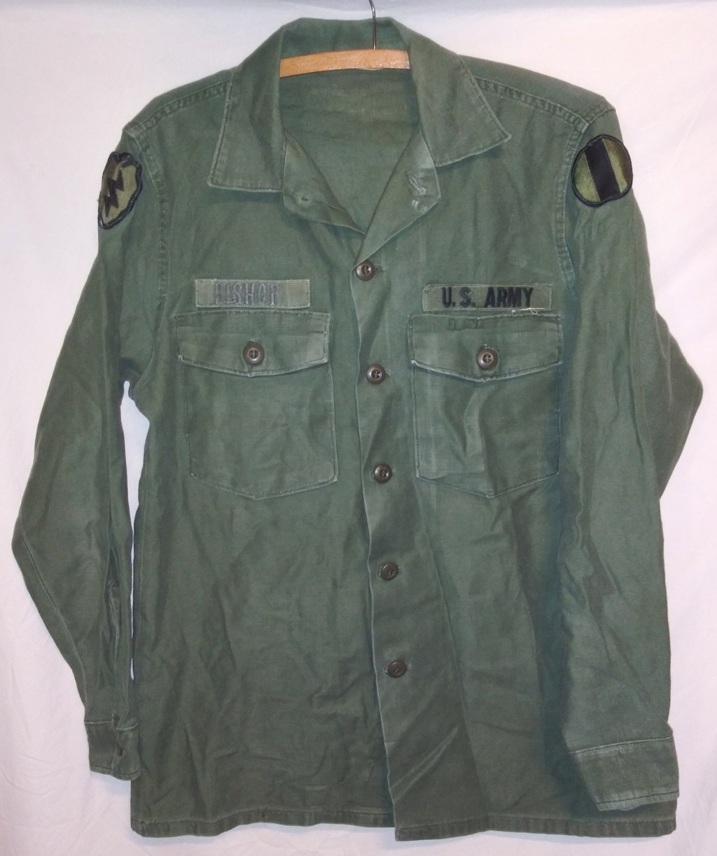 A few Vietnam War era Army Shirts and Jackets 20191230