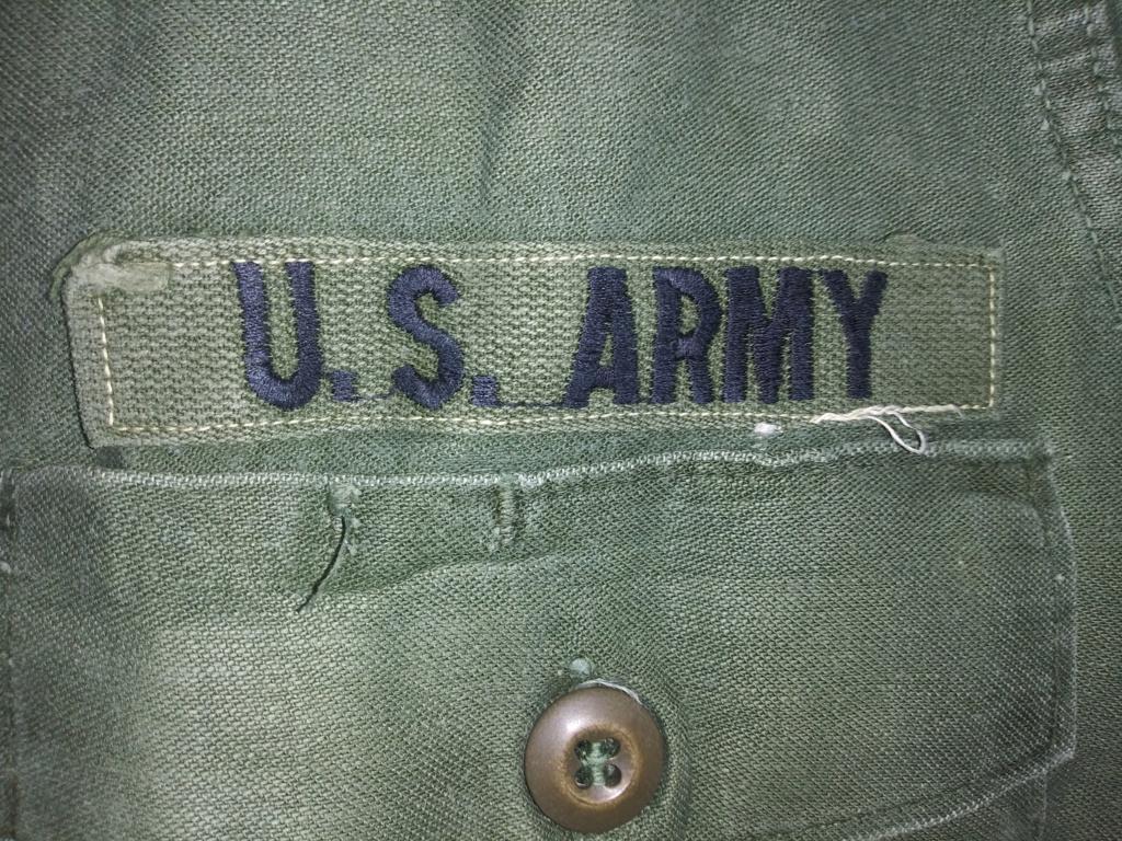 A few Vietnam War era Army Shirts and Jackets 20191232