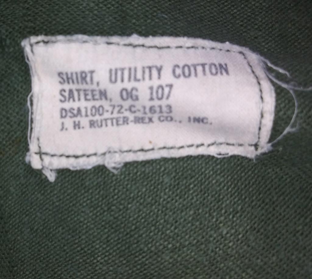 A few Vietnam War era Army Shirts and Jackets 20191233