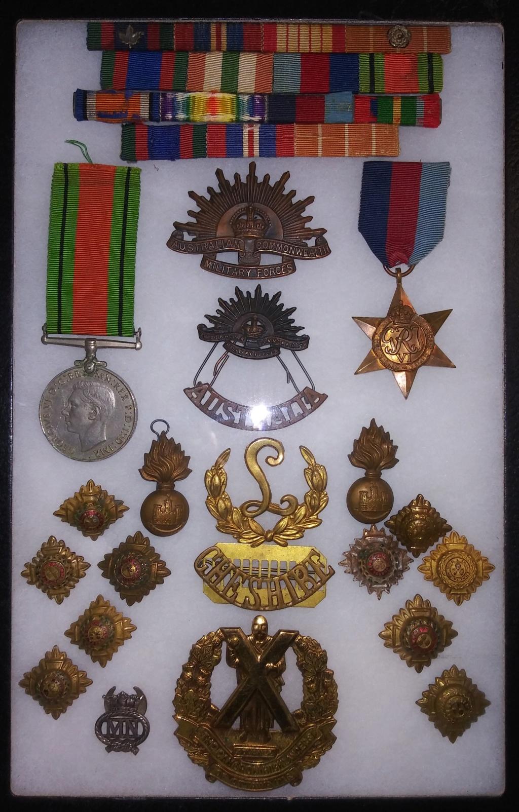 Some WW2 era Commonwealth Insignia 20200113