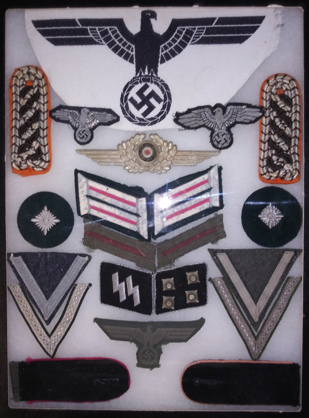 Some WW2 German medals and insignia 20200114