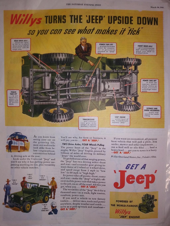 Base Purchase USAF CJ2A Jeep 20200231