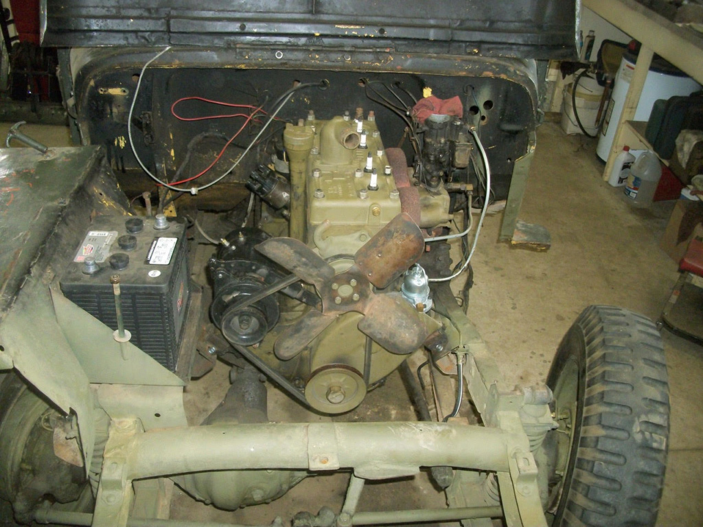 Base Purchase USAF CJ2A Jeep Rebuil10