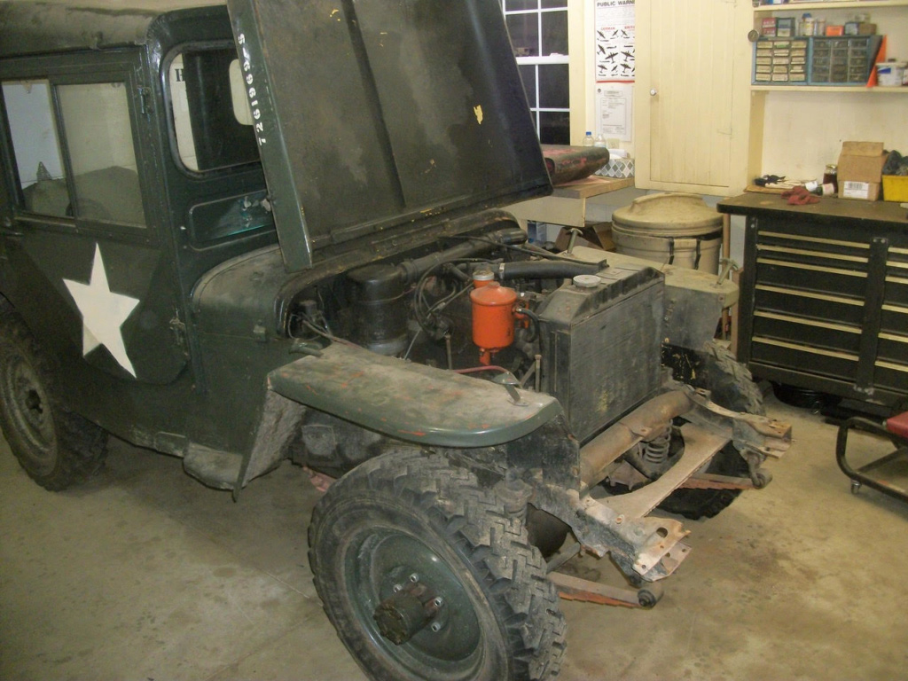 Base Purchase USAF CJ2A Jeep Start111
