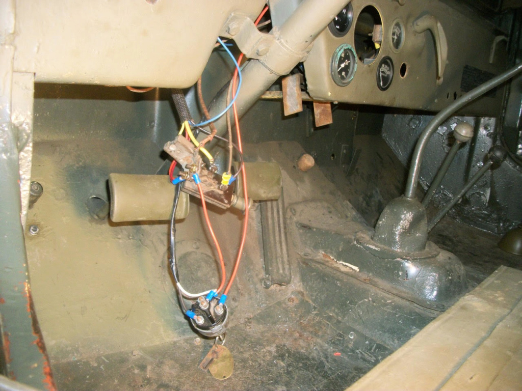 Base Purchase USAF CJ2A Jeep Wiring12