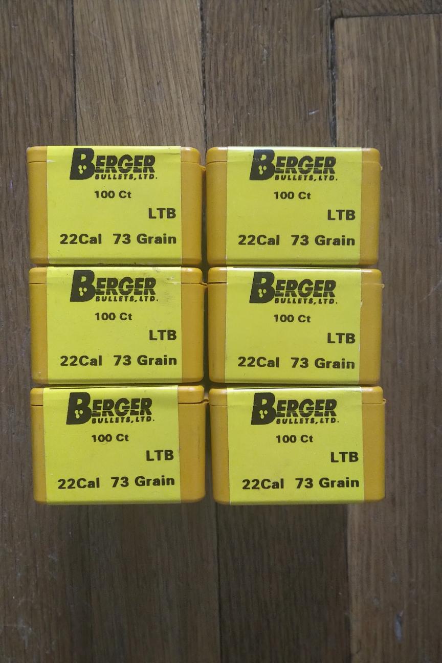 WTS: Berger 73 gn. Bullets for .223, 600 total - Old Stock Glendale, Handmade 1990s Berger10