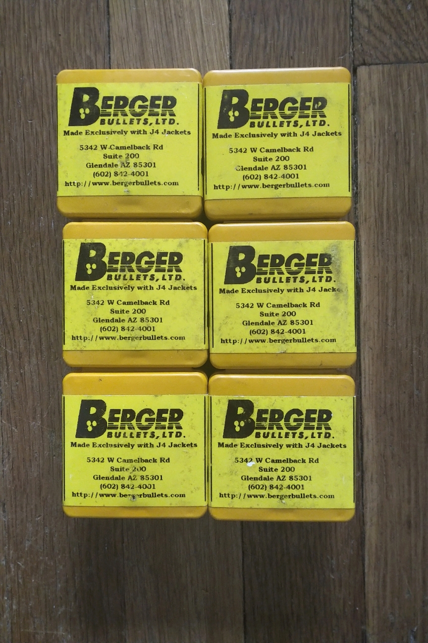 WTS: Berger 73 gn. Bullets for .223, 600 total - Old Stock Glendale, Handmade 1990s Berger11