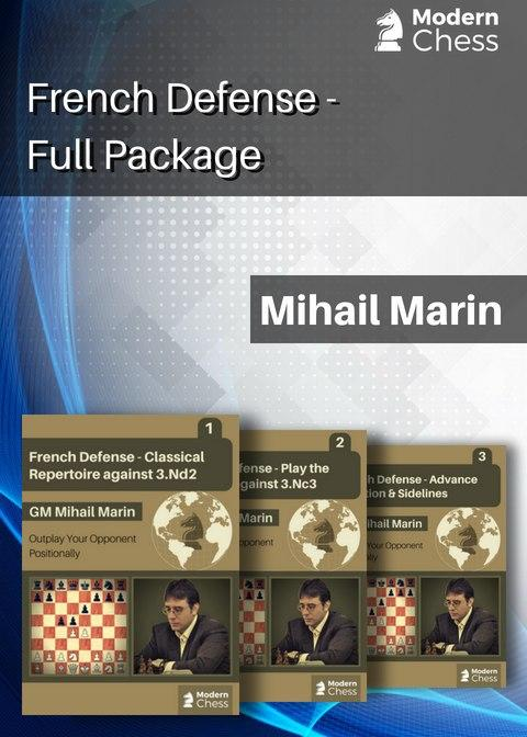 Complete French defense_Mihail Marin_2020_(PGNs) French11