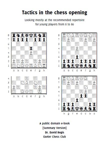 Tactics in the chess opening _ David Regis  Tac10