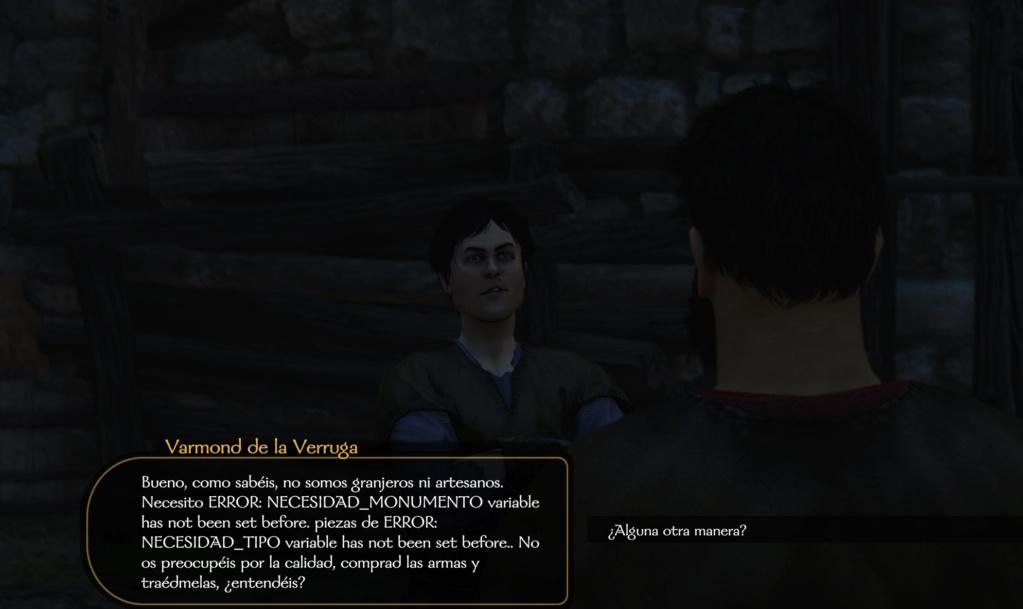 Traducción español Mount and Blade 2: Bannerlord - Página 9 Errort10