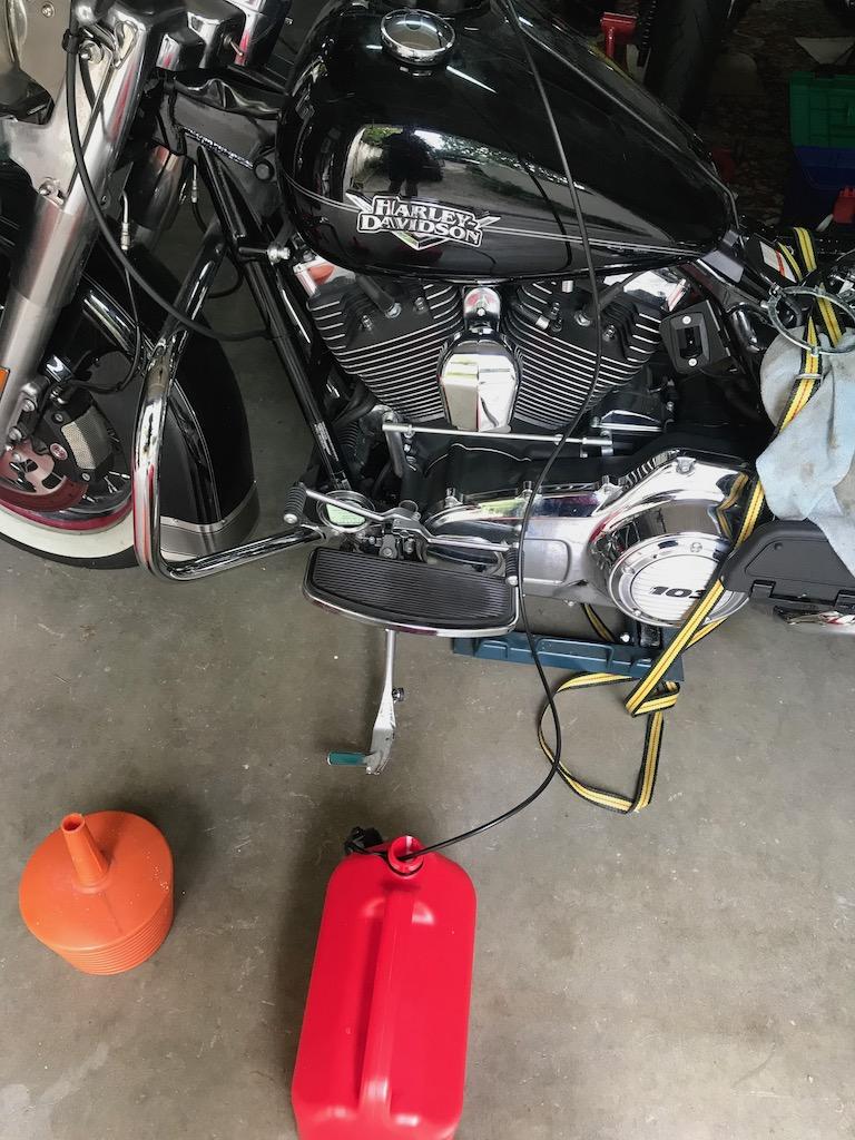 Réparation d'une fuite essence sur raccord rapide  Img_1421