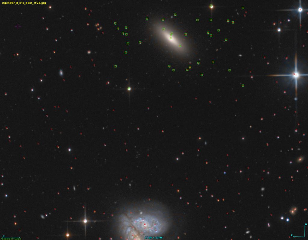 NGC4567 & 8 un compte facile Alandi10