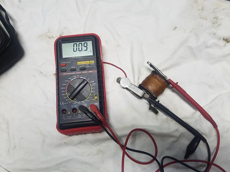 Remise en état de la magnéto Morel G1 20200914