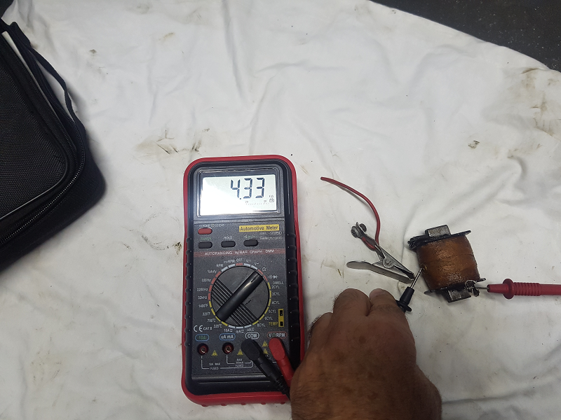 Remise en état de la magnéto Morel G1 20200915