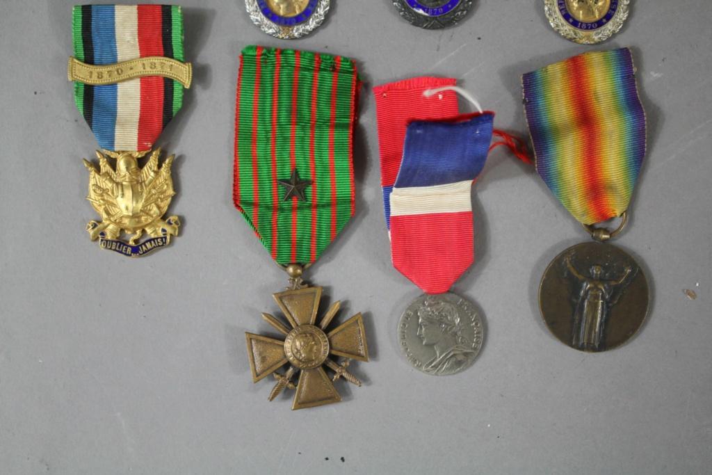 Estimation d'un Lot de 7 médailles  Hdv_be11