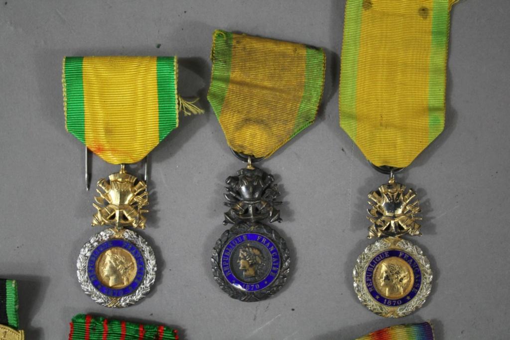 Estimation d'un Lot de 7 médailles  Hdv_be12
