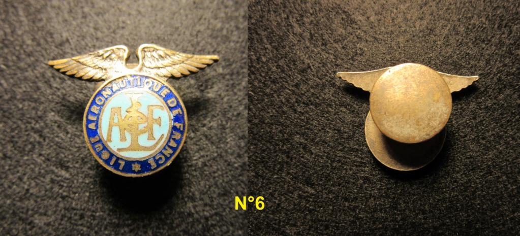 Insignes de boutonnière civil à identifier  Insign24