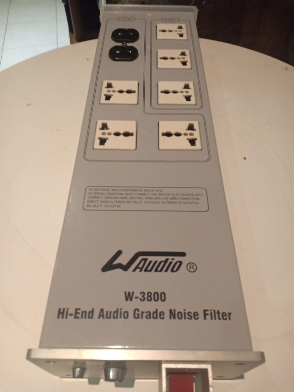 WAudio W3800 Noise Filter AC Panel 16259510