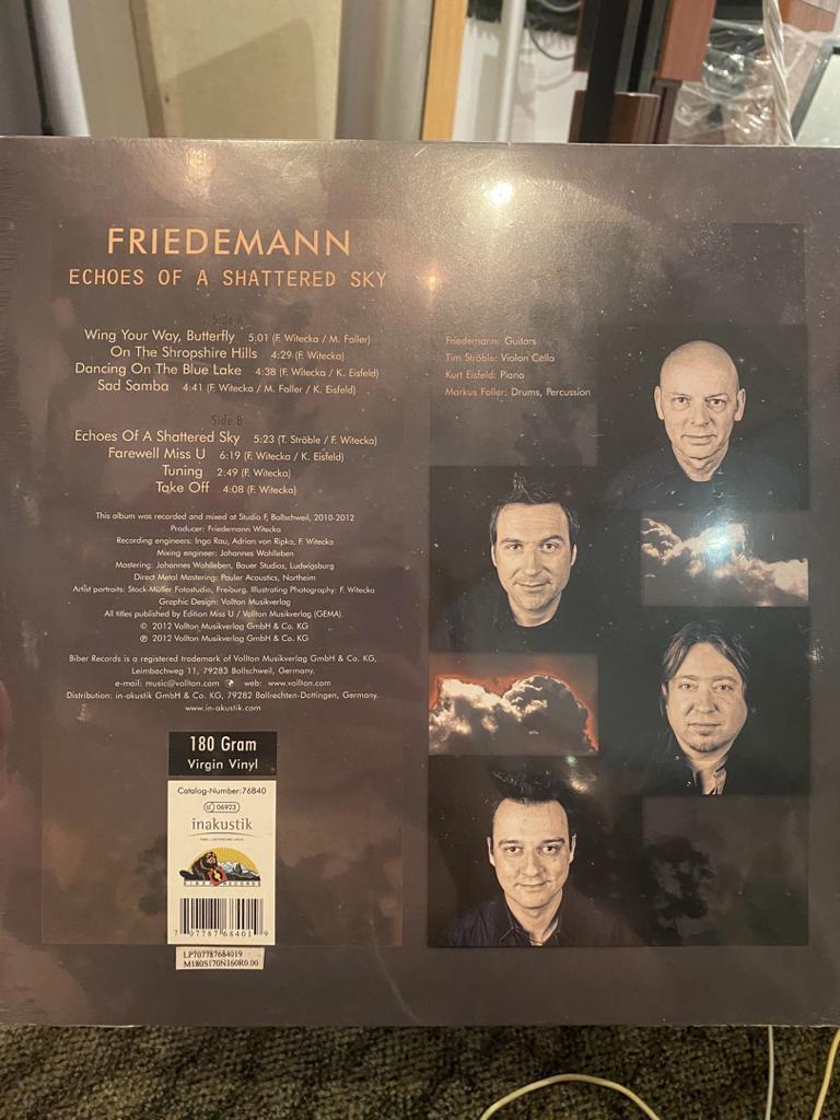 LP vinyl 180g FRIEDMANN Img-2010