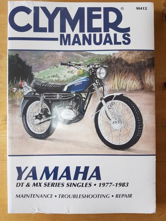 Restauration d'une Yamaha DT175MX 2K4 de 1979 20190720