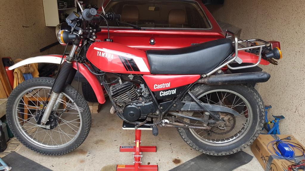 Restauration d'une Yamaha DT175MX 2K4 de 1979 20190810